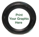 Custom Printable PLAIN White-BLANK WheelZ Tire Insert 17